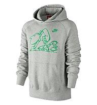 Nike Ru Vintage Starting Block Po, Grey Heather/Gamma Green