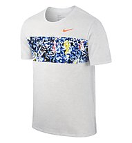 Nike Run P Synthesis Laufshirt Herren, Birch Heather
