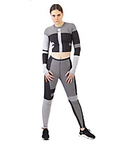 Nike Run Tech Pack Knit - pantaloni running - donna, Grey