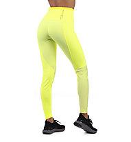 Nike Run Tech Pack Knit - pantaloni running - donna, Yellow