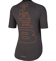 Nike Running Berlin Top - Laufshirt - Damen, Black