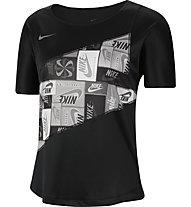 Nike Running - maglia running - donna, Black