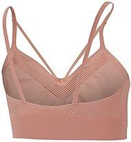 Nike Seamless Light Support - reggiseno sportivo a sostegno leggero - donna, Pink