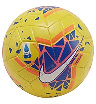 Nike Serie A Strike FA19 - pallone da calcio, Yellow/Blue