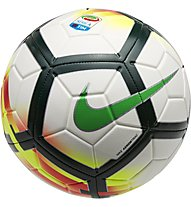 Nike Serie A Strike Football - Fußball, White/Red/Green