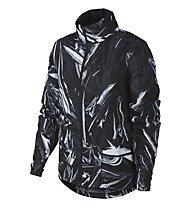 Nike Shield - Regenjacke - Damen, Black/White