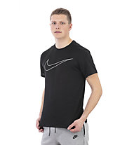Nike Superset Training - T-shirt fitness - uomo, Black