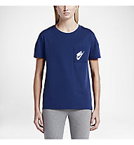 Nike Signal T-Shirt Damen, Deep Royal