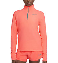 Nike Sphere 1/2-Zip Running - Runningpullover - Damen, Orange