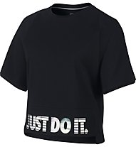 Nike Sportswear - Fitness T-Shirt - Damen, Black