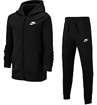 Nike Sportswear - Trainingsanzug - Jungen, Black/White