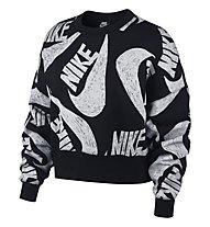 Nike Sportswear - Pullover - Damen, Black/White