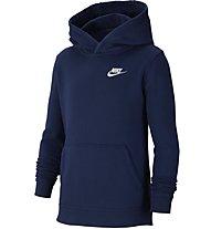 Nike Sportswear - Kapuzenpullover - Jungen, Dark Blue/White