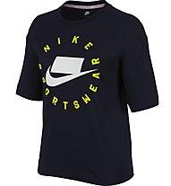 Nike Sportswear - T-shirt - donna, Blue