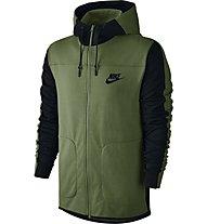 Nike Sportswear Advance 15 - Kapuzenjacke - Herren, Green