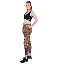 Nike Sportswear Animal Print Women's Leggings - Trainingshose lang - Damen, Dark Yellow