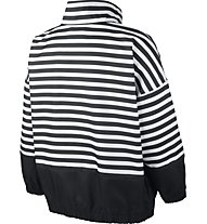 Nike Sportswear Animal Print Woven - giacca a vento - donna, Black/White