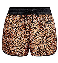 Nike Sportswear Animal Print Women's Woven Shorts - Trainingshose kurz - Damen, Dark Yellow