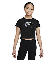 Nike Sportswear Big Kids' - T-Shirt - Mädchen , Black
