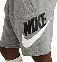 Nike Sportswear Club - pantaloncini fitness - bambini, Grey