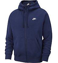 Nike Sportswear Club Fleece - felpa con cappuccio - uomo, Dark Blue