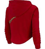 Nike Sportswear Cropped Hoodie - felpa con cappuccio - donna, Red