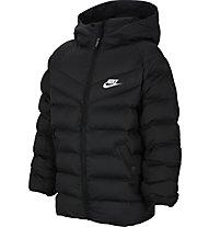 Nike Sportswear Filled - giacca con cappuccio - bambino, Black/White