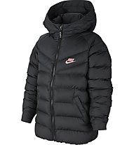 Nike Sportswear Filled - Winterjacke - Kinder, Black/Black/Pink