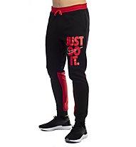 Nike Sportswear HBR+ Jogger - pantaloni fitness - uomo, Black/Red