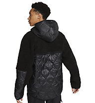 Nike NSW Heritage M's - Freizeitjacke - Herren, Black/Grey