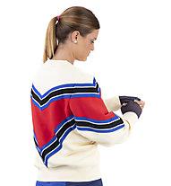 Nike Sportswear NSW Women's Fleece Crew - Sweatshirt - Damen, Light Yellow/Red/Blue