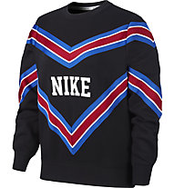 Nike Sportswear NSW Women's Fleece Crew - Sweatshirt - Damen, Black