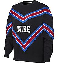 Nike Sportswear NSW Fleece Crew - felpa - donna, Black