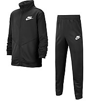 Nike Sportswear Play Futura - Trainingsanzug - Jungen, Black/White