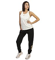 Nike Sportswear Rally Reg Metallic - pantaloni fitness - donna, Black