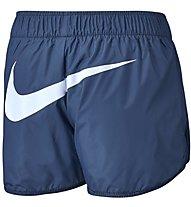 Nike Sportswear Short - kurze Fitnesshose - Damen, Blue