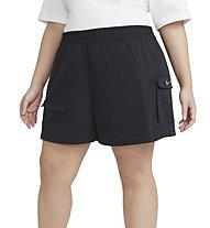 Nike Sportswear Swoosh - Trainingshose kurz - Damen, Black