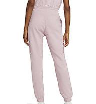 Nike Sportswear Swoosh French Terry - pantaloni fitness - donna, Pink