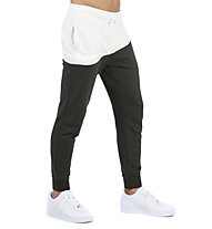 Nike Sportswear Swoosh French Terry Pants - pantaloni lunghi fitness - uomo, Beige/Brown