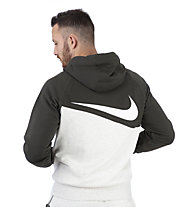 Nike Sportswear Swoosh Full-Zip Hoodie - Kapuzenjacke - Herren, Beige/Brown