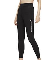 Nike Sportswear Swoosh High-Rise - pantaloni fitness - donna, Black