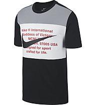 Nike Sportswear Swoosh - T-shirt - Herren, Black