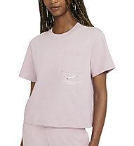 Nike Sportswear Swoosh - T-shirt - Damen, Pink