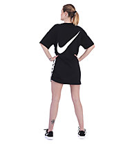 Nike Sportswear Swoosh Women's Dress - T-Shirt-Kleid - Damen, Black