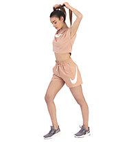 Nike Sportswear Swoosh Women's Woven Shorts - Trainingshose kurz - Damen, Rose