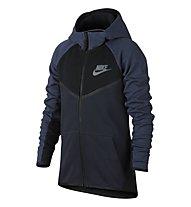 Nike Sportswear Tech Fleece Windrunner Hoodie - Kapuzenjacke - Kinder, Obsidian