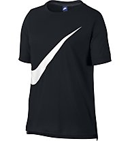 Nike Sportswear Top Trainingsshirt Damen, Black/White