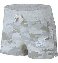 Nike Vintage Camo Short - pantaloni corti fitness - donna, Grey