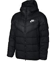 Nike Sportswear Windrunner Down Hooded - Winterjacke - Herren, Black