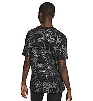 Nike NSW W's - T-Shirt - Damen, Black/Silver